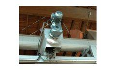 Model VA - SF - Stainless Steel Spiral Conveyors for Sludges Dewatering