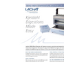 Lachat BD40 - High Temperature Digestion System Datasheet