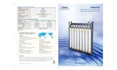 TORAYFIL - PVDF Hollow Fiber UF Membrane Submerged Type Element & Rack Brochure