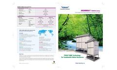 MEMBRAY TMR090 Series Brochure
