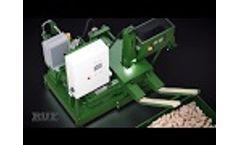 Wood briquette machines -