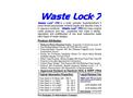 Waste Lock - Model 770 - Superabsorbent Socks