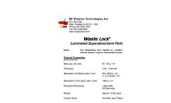 Waste Lock- TOTALSORB - Oil Absorbents Brochure