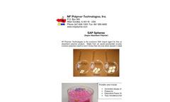 MediSAP - Model 661 & 715 - Super Absorbent Polymers Brochures