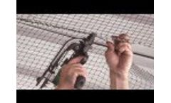 How to Install Heavy Duty Bird Netting Video