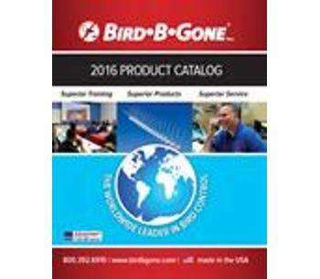 Bird B Gone Product Catalog