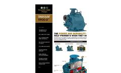 Wastecorp - Model HW-25 Series - 25 Gallon - 50 Gallon Pump Out Caddy Wagon - Brochure