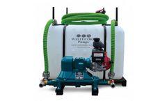 Optimal groundwater contamination monitoring using pumping wells