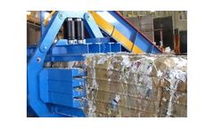 ANIS Heavy-duty balers for paper mills