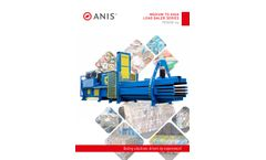 Anis - Model Premium Line - Med & High Load Baler - Brochure