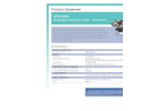 Hughes Safety - Model STD-85G - Wall Mounted Emergency Eye/Face Wash with Stainless Steel Open Bowl - Datasheet