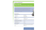 Hughes Safety - Model STD-40K/45G - Mobile Self-Contained Emergency Safety Shower - Datasheet