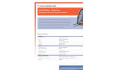 Hughes Safety - Model PORTAflex CUPOLA - Inflatable Decontamination Shelter - Datasheet