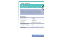 Hughes Safety - Models STD-25K - Emergency Eye/Face Wash - Plumbed In - Datasheet