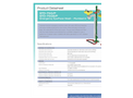 Hughes Safety - Model STD-75G/P and STD-75GS/P - Pedestal Mounted Emergency Eye/Face Wash with Open ABS Bowl - Datasheet