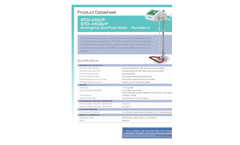 Hughes Safety - Models STD-45GS/P and STD-45GS/P - Datasheet