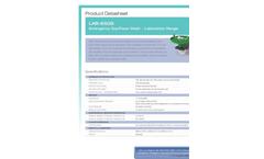 Hughes Safety - Model LAB-85GS - Emergency Eye/Face Wash -  Laboratory Range - Datasheet