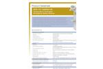 Model STD-TC-100KS/11K - Temperature Controlled Emergency Safety Shower - Datasheet
