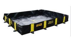 Rigid-Lock QuickBerm - Model 1121 - Drive-in Spill Containment - 5432 Litre Capacity