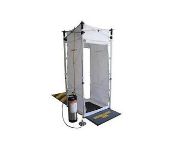 Hughes - Model PORTAdec 500 - Portable Decontamination Misting Shower