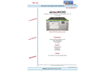 airmo H-CHO Formaldehyde Analyzer - Brochure