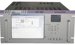airmoVOC - Model BTEX MCERTS GC/FID - Instrument for Automatic, Continuous Monitoring of BTEX in Air, Water or Soil