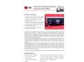 Model AL4021 - Continuous Formaldehyde Analyzer for Air and Water Monitor Brochure