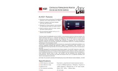 Aero-Laser - Model AL4021 - Continuous Formaldehyde in Air and Water Monitor - Brochure