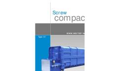 Werner-Weber - Model SKPCA/M.E - Wet Waste Compactors-  Brochure