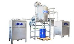 OFRU - Model ASC-500 50 kW - Solvent Recovery Plant