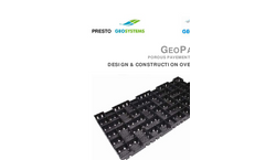 GeoChem - Model 12WB - Reinforced Geomembrane Liner - Brochure