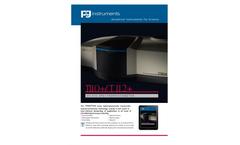PG Instruments - Model T112+ - UV-Visible Spectrophotometer - Brochure