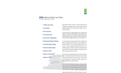 EMS Concrete Pump Wash & Wax Brochure