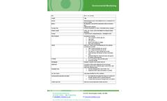 Microfid - Model II - Portable Flame Ionization Detector Brochure