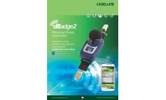 dBadge - Model 2 - Noise Dosimeter Brochure