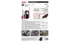 Kimo - Model AMI 310 - Air Quality Meter Brochure