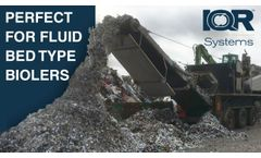 Crushing of Industrial Waste In One Step - Video