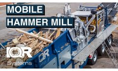 Swedish Made Mobile Hammer Mill - Video