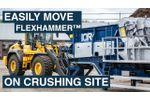 Mobile Crusher Lifting Tool - Video
