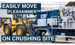 Mobile Crusher Lifting Tool - Video