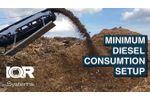 FlexHammer 1500 - Minimum Diesel Consumption - Video