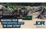 Making RDF for the Fluid Bed Type Boilers - Video