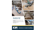 FlexHammer - Model 1500 Mobile - Multi Purpose Heavy Duty Hammer Mill - Brochure