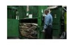 Front Bale Eject by PTR Baler and Compactor Company Video