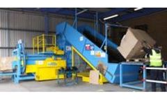 SCAPA - Model HB60 HM - Shear Press Recycling Waste Balers