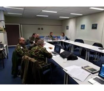 Training to Royal Netherlands Air Force. -1