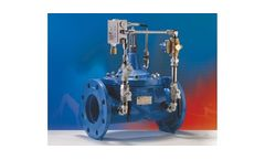 Watts ACV - Model EU 100 series - Automatic Control Valves (ACV)