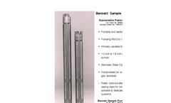 Bennett Sample Pumps Products - Brochure