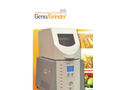 Geno/Grinder - Model 2010 - Automated Tissue Homogenizer and Cell Lyser Brochure