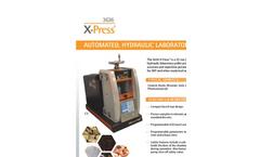 Hydraulic Laboratory Pellet Press 3636 Series - Brochure